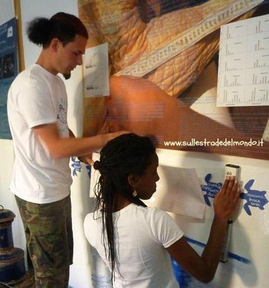 Volontari a Lampedusa
