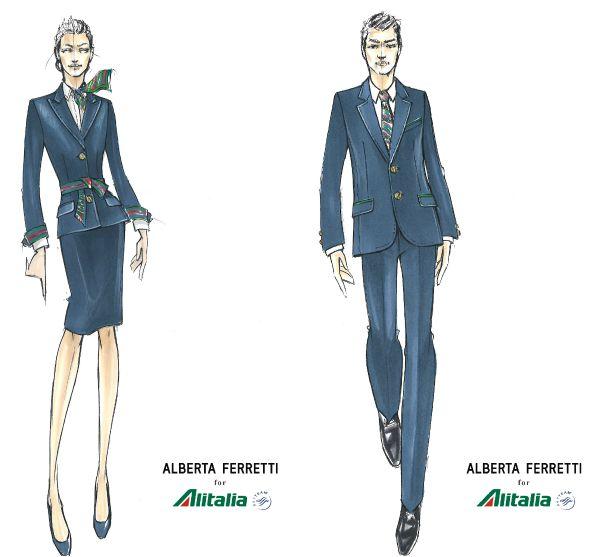 Disegni divise Alitalia
