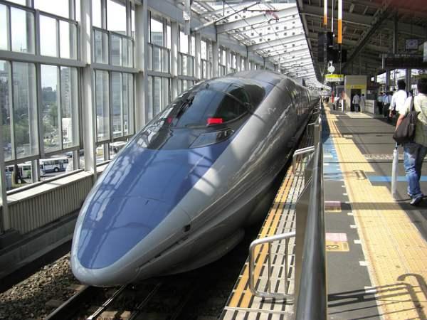 Il Nozomi  è il treno più veloce in servizio, ma è escluso dal JR Pass