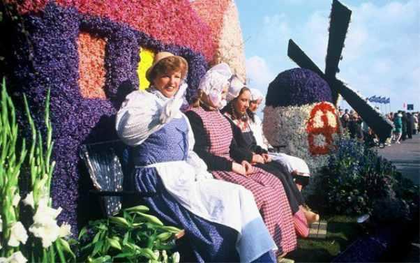 parata floreale