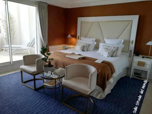 La mia camera all'hotel Majestic Cannes