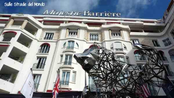 Facciata Hotel Le Majestic Barrière