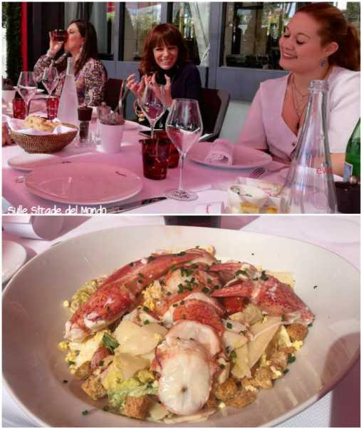 Pranzo a Le Fouquet's Cannes