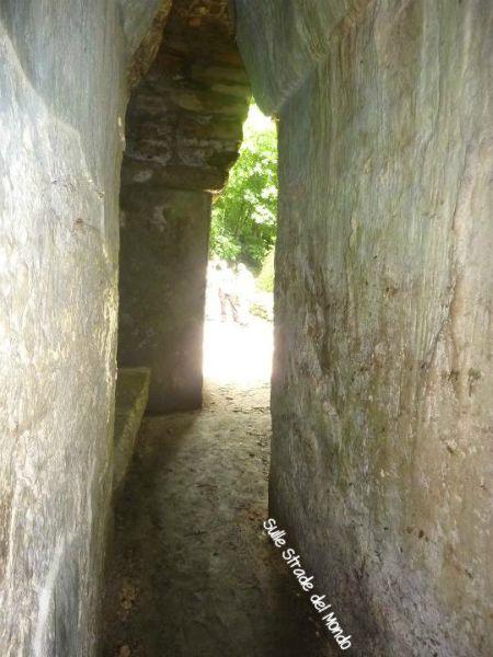 uscita labirinto Yaxcilaian