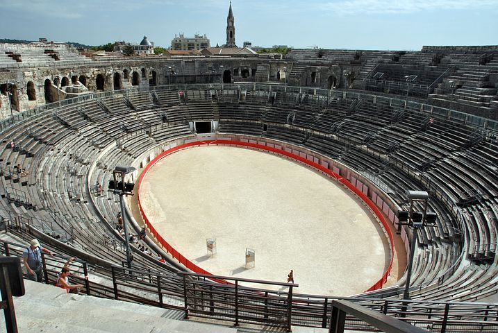Nimes anfiteatro