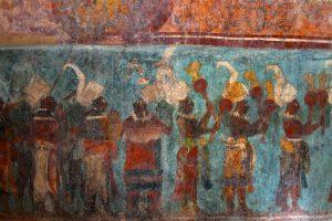 affreschi maya
