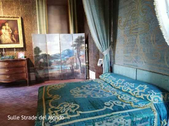 Ariccia Camera da letto verde di Palazzo Chigi