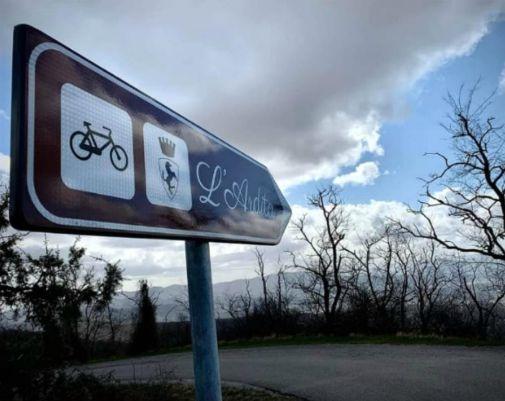 Ardita percorso cicloturistico