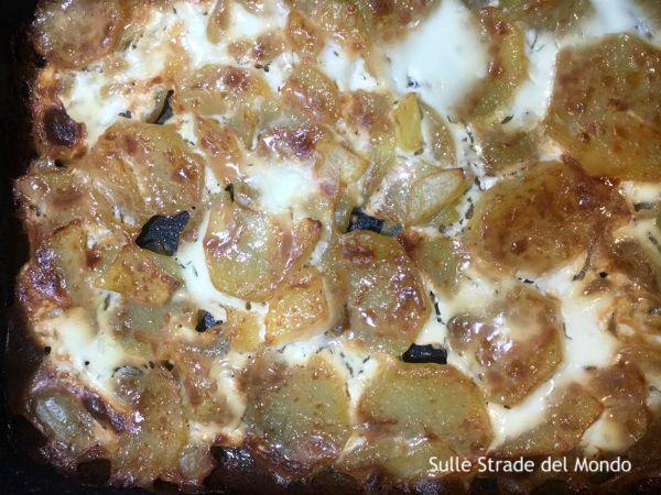 ricetta gratin dauphinois con panna