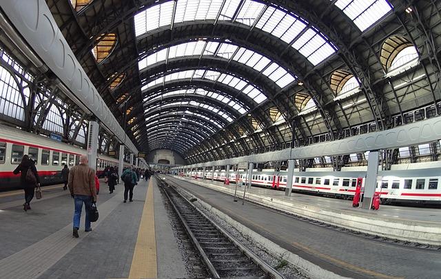 viaggiare in treno durante la fase 2