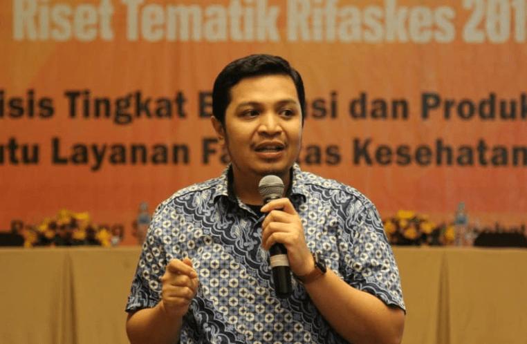 Dr Irwandy Ketua Dept Manajemen RS FKM Unhas