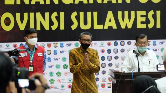 Ketua Umum PMI Pusat HM Jusuf Kalla