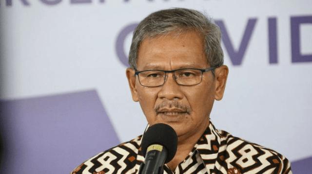 Juru Bicara Pasien Gugus Tugas Covid Nasional Achmad Yuriantol