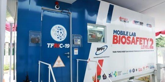 Menristek Resmikan Mobile Lab BSL-2 BPPT Untuk Uji Tes Covid-19