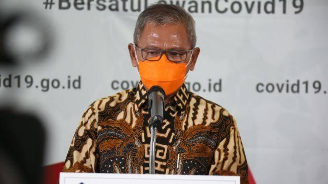 Achmad Yurianto, selaku Juru Bicara Covid-19 Pemerintah Indonesia