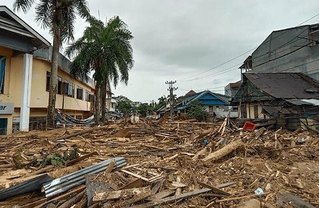 Kondisi Banjir Masamba