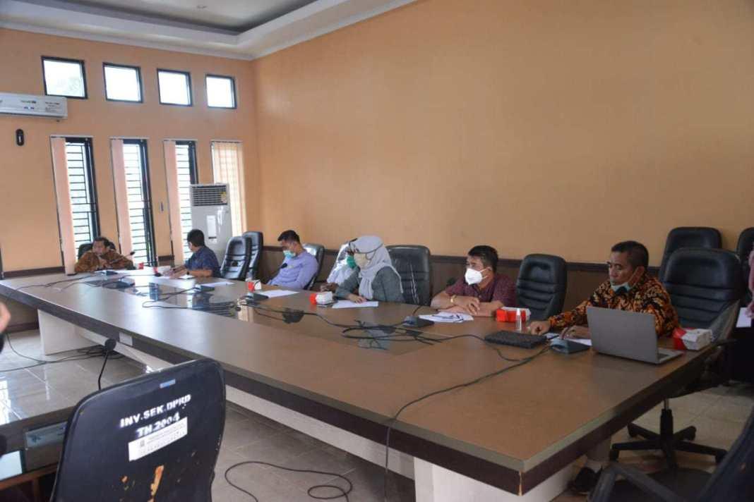 DPRD Sinjai-Wajo Bahas Refocusing Anggaran Covid-19