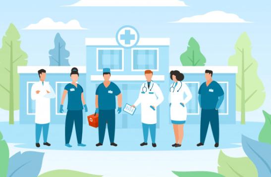 Ilustrasi Rumah Sakit
