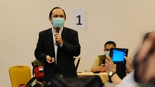 Pakar Epidemiologi Universitas Hasanuddin Prof Ridwan Amiruddin