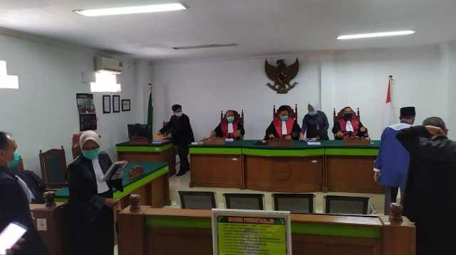 Anggota DPRD Makassar di PN Makassar