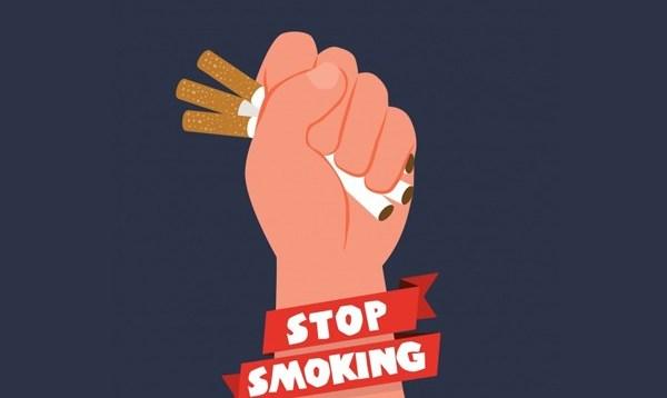 Ilustrasi ajakan berhenti merokok