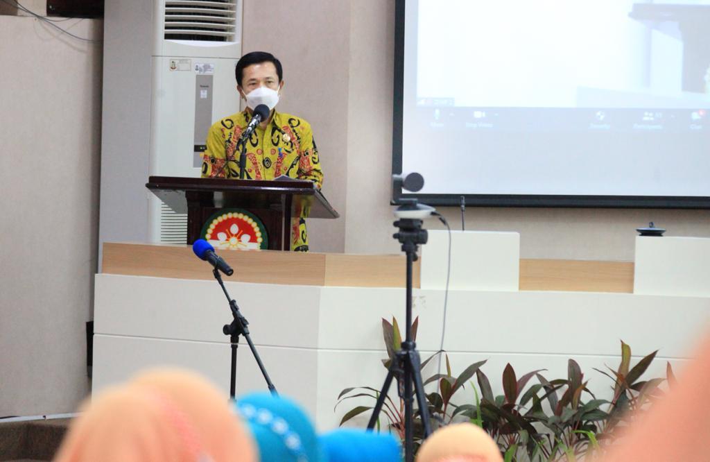 Penjabat Sementara Walikota Makassar Rudy Djamaluddin