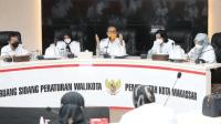 Rapat Koordinasi Makassar Recover bersama dengan IDI Makassar