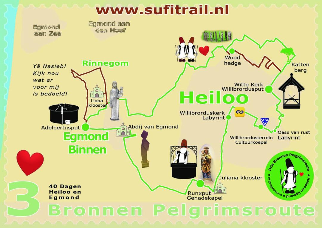 Heiloo route Sultans Trail
