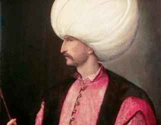 The heart of Sultan Suleiman