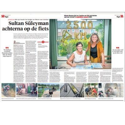 Interview Haarlems Dagblad, 20 aug. 2021, Arnold Aarts