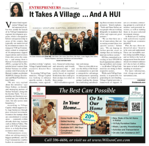 Vilcap-Midweek Article-Sultan Ventures HUI
