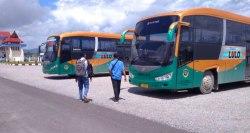 Dishub Kendari Siagakan Bus Trans Lulo di Mudik Lebaran 1439 H
