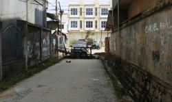 Akses lorong Hikma 1 Ditutup Ssementara dan akan Dibuka Setelah JL.M.T.Haryono Diperbaiki