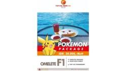 Pokemon Package dari Fortune Frontone Hotel Kendari. (Foto: Fortune Frontone Hotel Kendari)