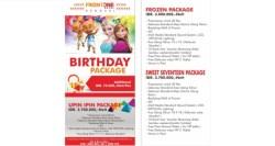 Birthday Package Sesuai Budget Hanya di Fortune Frontone Hotel Kendari