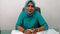 Komisioner KPU Kabupaten Buton, Rahmatia. (Foto: La Ode Ali/SULTRAKINI.COM).