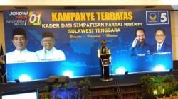 Ketua Umum DPP Nasdem, Surya Paloh. (Foto: Hasrul Tamrin/SULTRAKINI.COM).