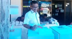 Wali Kota Kendari Nyoblos di TPS 04, Pemilu Diharapkan Aman dan Lancar