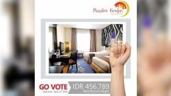 Promo Go Vote PlazaInn Kendari by Horison menyambut pemilu 2019.