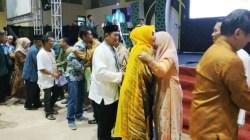 PT Antam Pomalaa Halal Bihalal bersama warga dan karyawan di gedung Antam Sport Center, Rabu (19/6/2019). (Foto: Istimewa)