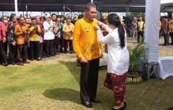 Bupati Kolaka Terima Penghargaan Satyalancana Pembangunan dari Presiden