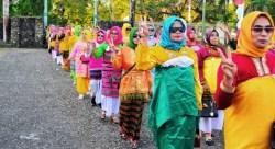 Ragam Budaya Muna Dipamerkan pada Karnaval HUT Muna ke – 60