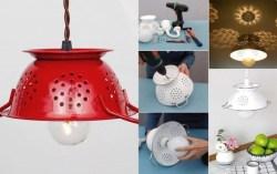 12 Cara Kreatif Membuat Lampu Gantung dari Barang Sekitarmu