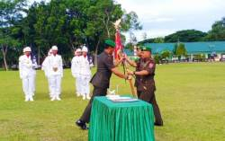 Komandan Batalyon Infanteri 725/Woroagi Berganti