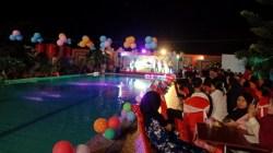 Perayaan malam pergantian tahun di Fortune Fortone Hotel Kendari. (Foto:Wa Rifin/SULTRAKINI.COM)