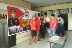 Melawan Saat Ditangkap, Polisi Hadiahi Timah Panas kepada Dua Pelaku Curanmor