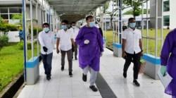 Usai Negatif Covid-19, Rajiun Tumada Lanjutkan Syarat Tahapan Pilkada
