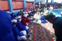 Ritual Adat Tuturangiana Batupoaro dalam Peringatan HUT Baubau Digelar Sederhana
