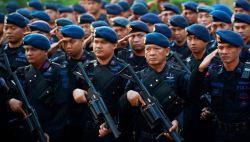 Pasukan Brimob Nusantara Diterjunkan di Empat Kabupaten Pelaksana Pilkada di Sultra