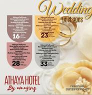 Paket Wedding Mulai Harga Rp16 Juta Hanya di Hotel Athaya Kendari By Amazing